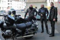 Dirk, Bob und ich am Start.