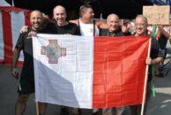 Die Jungs vom Guzzi-Club Malta - extra angereist!