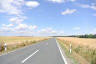 In Richtung Norden - viel weites Land und wenig Kurven.