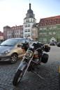 Der schöne Marktplatz in Rudolstadt