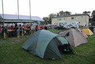 Unser kleines Zelt...